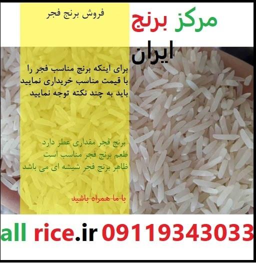 خرید برنج ایرانی فجر